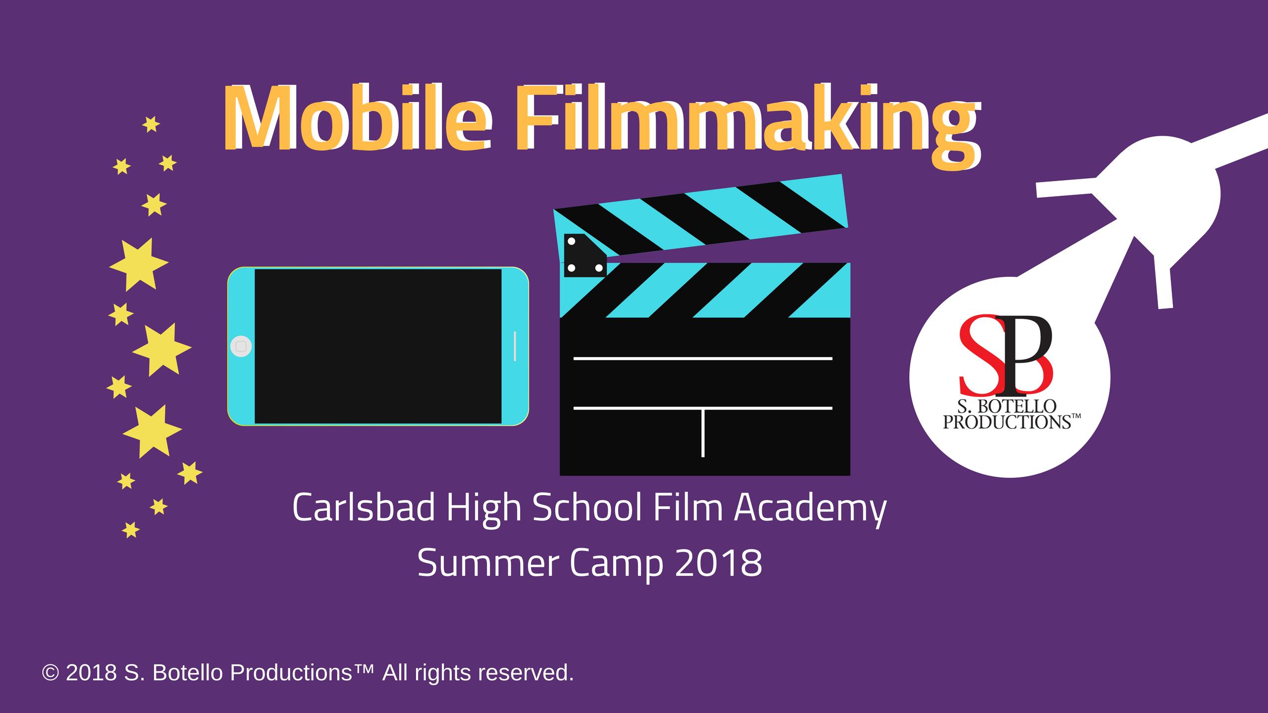 Mobile Film School Carlsbad HS