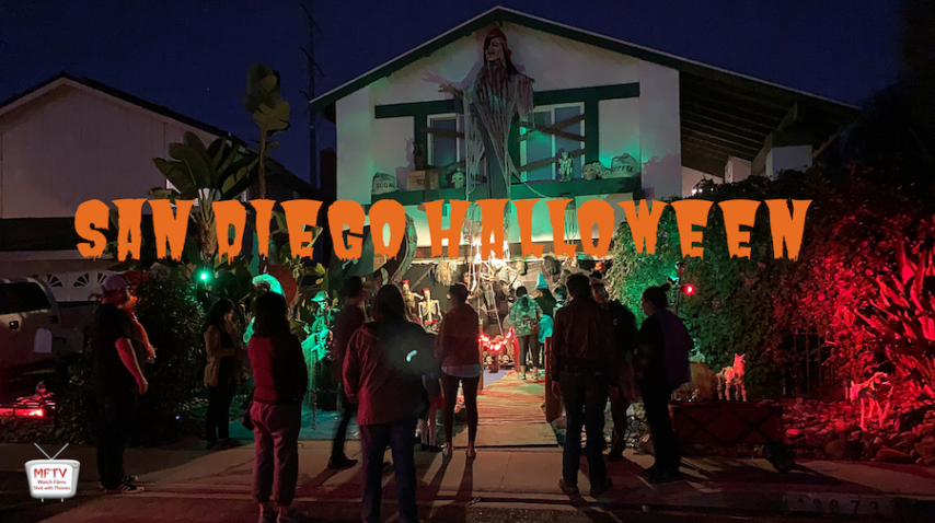 San Diego Halloween video