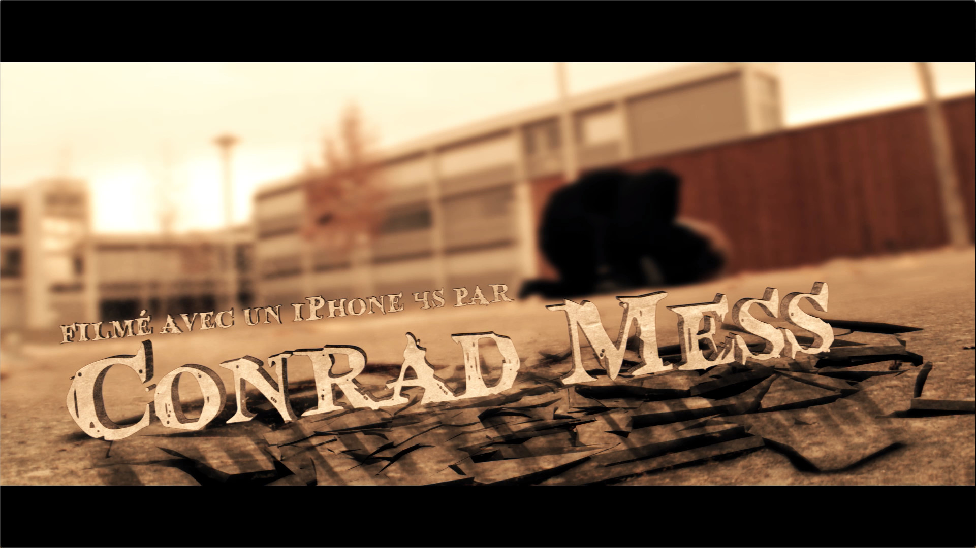 Conrad Mess Vengeance Cover